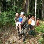 FAB resgata índia vitima de queimadura no Amapá