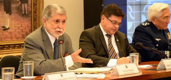 Segundo Amorim, novas aeronaves da FAB vão gerar menos dependência do fornecedor e mais empregos de alta qualidade no Brasil  Foto : Jorge Cardoso