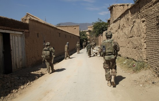 Bagram security patrol