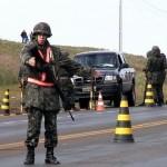 Forças Armadas vão atuar nas estradas visando frear o contrabando de armas e drogas