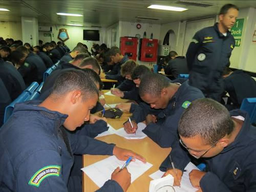 Aspirantes da Escola Naval