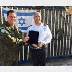 Comandante da Força-Tarefa Marítima da UNIFIL realiza visita a Israel