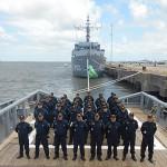 """Navios do Comando do 5º Distrito Naval participam da Operação """"Aspirantex-2015"""""""
