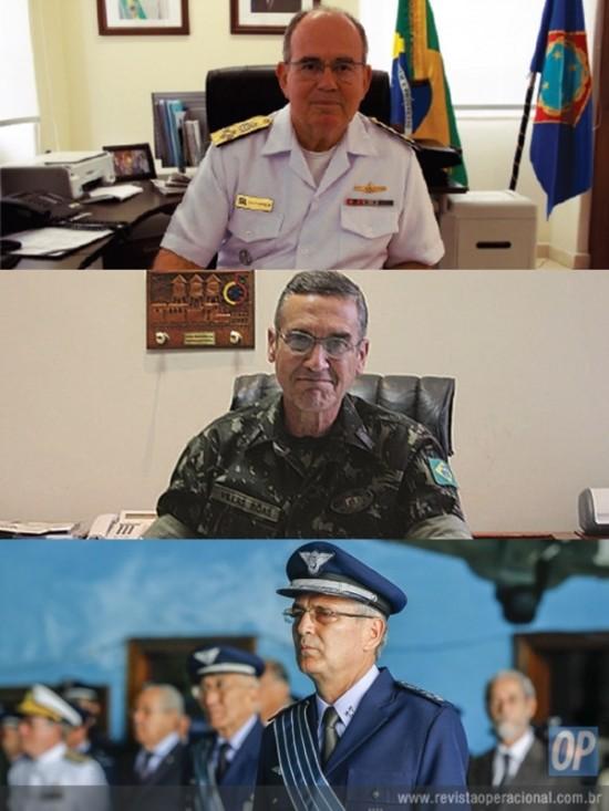 Novos Comandantes das FA