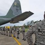 Fronteira no Amazonas continua com ações da Força Nacional