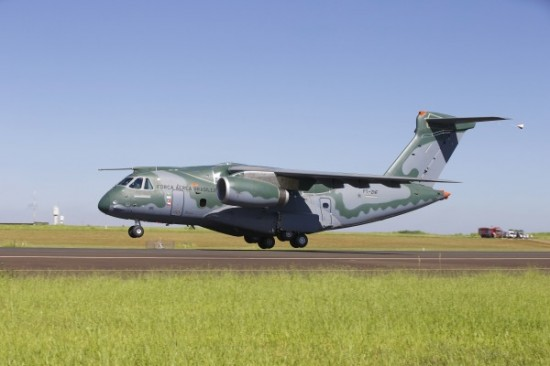 1º voo do KC-390.3