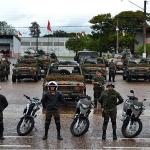 Estágio de adaptação do 3º Esquadrão de Cavalaria Mecanizado