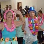 Unidade que cuida de ex-militares idosos da FAB celebra carnaval