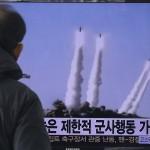 Seul eleva alerta após lançamento de mísseis da Coreia do Norte