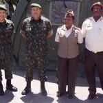 Base de Apoio Logístico do Exército recebe comitiva da África do Sul