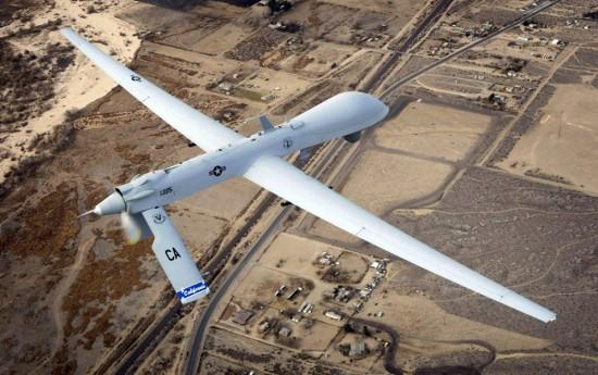 Drone EUA no OM