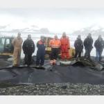 Batalhão de Engenharia do CFN apoia a XXXIII Operação Antártica