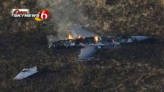 F-16 Acidentado em Outubro 2014