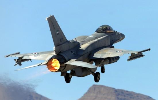 F-16-dos-Emirados-Árabes-Unidos-