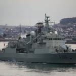 Navio logístico francês Siroco vai custar a renovação de duas fragatas