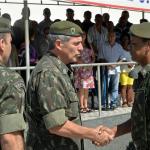 Passagem de Comando da Força de Pacificação na Maré