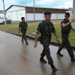 Visita do Comandante da 3ª D.E ao Centro de Instrução de Blindados