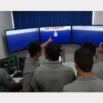 Grupamento de Patrulha realiza adestramento no Simulador de Passadiço