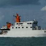 """Navio Hidroceanográfico Fluvial (NHoFlu) """"Rio Branco"""" entregue a Marinha do Brasil"""