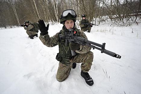 O equipamento do Ratnik