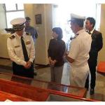 EAMPE recebe visita da Força Marítima de Autodefesa do Japão