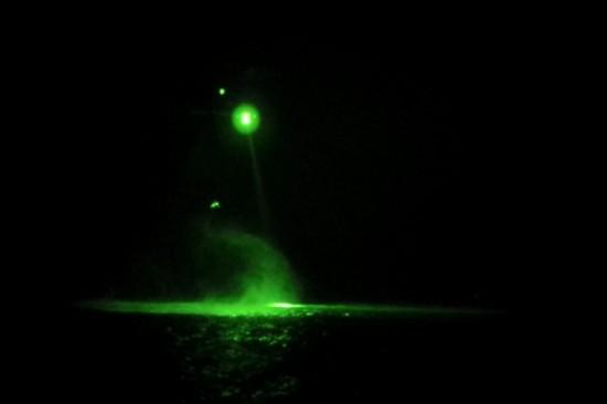 Resg Noturno sobre a agua.5