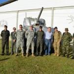 C I BLD recebe visita de militares das Nações Amigas