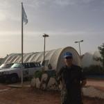Major da FAB assume comando de base militar em missão da ONU