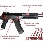 Infográfico : A evolução do fuzil de assalto Kalashnikov (AK)