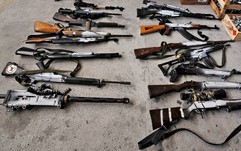 armas do crime