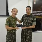 Homenagem ao Comandante do 1º Regimento de Carros de Combate