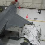 Fotos mostram jatos destruídos após colisão em treino militar nos EUA