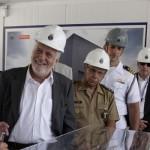 Ministro Jaques Wagner visita as instalações do PROSUB