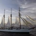 Navio-escola espanhol chega ao Rio de janeiro em viagem de instrução