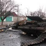 Militares ucranianos continuam cercados em Debaltsevo