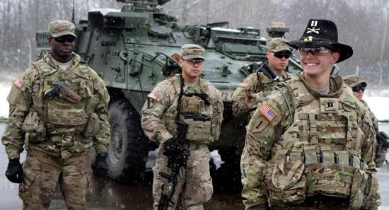 tropas EUA