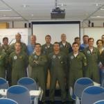 Esquadrão VF-1 em Ground School com a Embraer