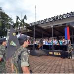 Incorporação de novos soldados ao 1°Batalhão de Ações de Comandos
