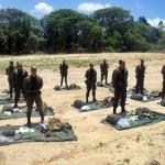 Exercício no Terreno do 28º Batalhão de Caçadores