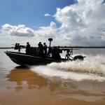 52º Batalhão de Infantaria de Selva recebeu duas embarcações modelo 25' Guardian