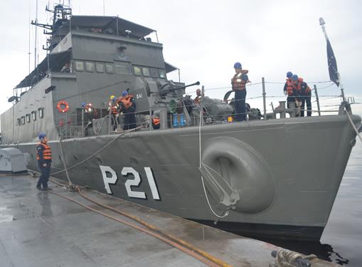 Ações foram iniciadas a partir do Cais da Estação Naval do Rio Negro