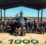 Esquadrão Adelphi completa 1.000 hs de voo com caças A-1M