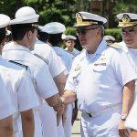 Comandante da Marinha faz primeira visita oficial ao CTMSP