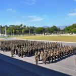 Comando Militar do Leste realiza 1ª Formatura Geral do BRABAT 22