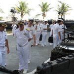 Delegação da Marinha Militar Italiana visita Força de Submarinos