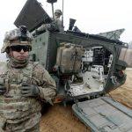 Estônia recebe tanques e paraquedistas norte-americanos