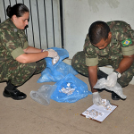 Força de Pacificação Maré efetua prisão de suspeitos de envolvimento com o narcotráfico