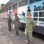Passagem de Comando do GptOp de Fuzileiros Navais da Força de Pacificação Maré