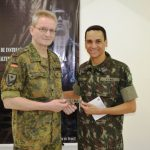 Centro de Instrução de Blindados Recebe Instrutor Estrangeiro