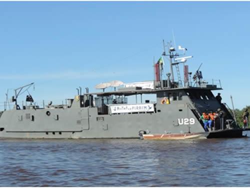 Operação foi realizada no Tramo Sul do Rio Paraguai